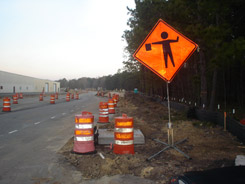Construction begins at Palmetto Commerce Parkway.